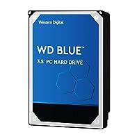 Western Digital 西部数据 WD Blue WD40EZRZ PC硬盘,5400 RPM级,SATA 6 Gb / s,64 MB缓存,3.5英寸(约8.89厘米),4TB