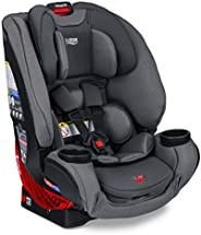 Britax One4Life ClickTight 一体式汽车座椅 – 10年使用 – 婴儿、可转换、可增高座椅 – 5 至 120 磅 – SafeWash 面料,漂移