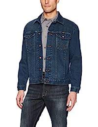 WRANGLER 男式西部风格牛仔夹克