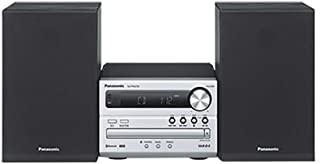 Panasonic 松下 SC-PM250EB-S Micro Hi-Fi 蓝牙音箱系统,黑色和银色