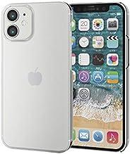 Elecom 宜丽客 iPhone 12 mini 保护壳 硬质 透明 PM-A20APVCR