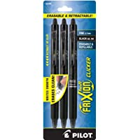Pilot FriXion Clicker Retractable Erasable Gel Pens