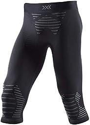 X-BIONIC 男士 Invent 4.0 3/4 慢跑训练健身带内层打底裤