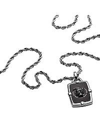 Diesel 迪塞 男士项链 带吊坠 & 吊坠 不锈钢 DX1174040