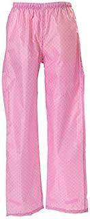 [马尔久科波利]防水循环雨裤 男女兼用 绅士 妇女 男士 女士 雨衣 自行车 雨披 上下班 上学 06003073 女士 粉色 L