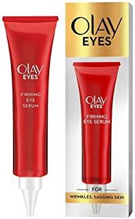 Olay 眼部紧致精华液,含烟酰胺,缓解皱纹和皮肤松弛,15毫升