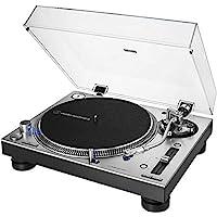 Audio-Technica 鐵三角 AT-LP140XP 專業電唱機 帶直驅 銀色