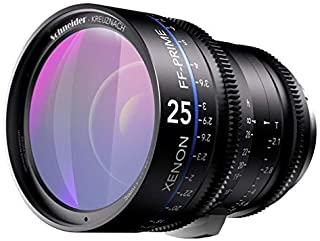 Schneider-Kreuznach 1079426 Cine 镜头,FF-Prime T2.1/25毫米,尼康/英尺 黑色