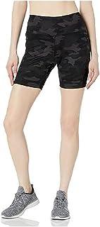Danskin 女士自行车短裤,带侧口袋