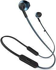 JBL TUNE205BT 蓝牙耳机 带麦克线控/开放式 蓝色 JBLT205BTBLU