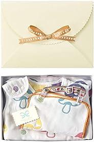 Hoppetta champignon 6层纱布睡袋+夹子&手帕 礼品盒套装1811