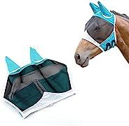 Andiker Horse Fly 眼罩,带耳朵,可调节防紫外线面罩