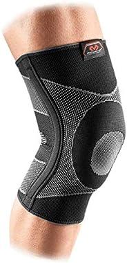 McDavid 4way 弹性带凝胶支撑护膝和竹 黑色 小号