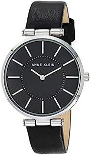 Anne Klein 安妮克莱因 女式皮革表带手表