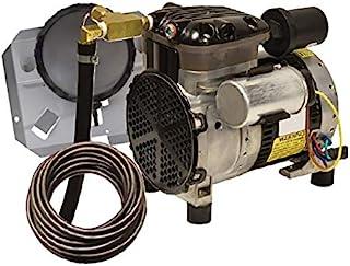 EasyPro Pond Products PA34W 1/4 hp Rocking 活塞通风系统套件,带快速吸水管