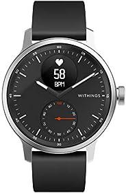 Withings ScanWatch 诞生于法国的智能手表 42毫米款 黑色 *长可持续30天 心率急剧变化&*中的*乱 HWA09-MODEL 4-AL