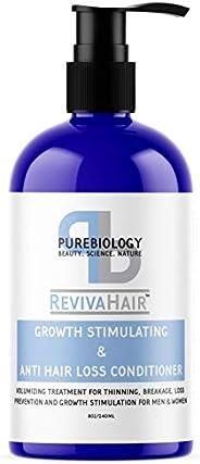 *生长刺激护发素(男女皆宜),含生物素、角蛋白和断裂抗*复合物 - *保湿后洗发水 适用于男女