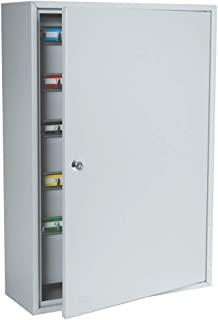 DuraBox 200 位置钥匙柜,带钥匙锁,浅灰色(K200),供代客、酒店、汽车经销商使用,包括壁挂式螺丝。
