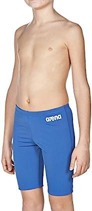 Arena 男童纯色泳裤