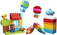 LEGO 乐高 积木玩具 Duplo 得宝 我的自由创意趣玩箱 <DX> 10887 男