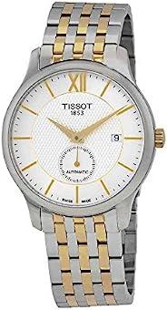 Tissot Tradition 自动银色表盘男式手表 T063.428.22.038.00