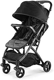 Summer 3Dpac CS 紧凑型折叠婴儿车 黑色 – 紧凑型汽车座椅可调婴儿推车 – 轻质推车带方便的单手折叠,可躺座椅和超大顶篷