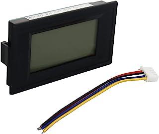 Heyiarbeit 直流电压表 YB5135D 数字黑色文字 LED 数字伏电压表 4 根电线连接用于交流电压测量 1 件