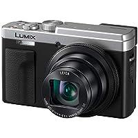 PANASONIC LUMIX ZS80 20.3MP 数码相机,30x 24-720mm 旅行变焦镜头,4K 视频,光学图像稳定器和 3.0 英寸显示屏 - 带尖射照相机 - DC-ZS80S(银色)