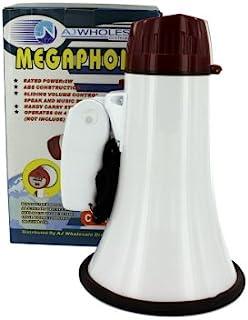 bulk buys Compact Megaphone with Siren,黑色/白色/红色