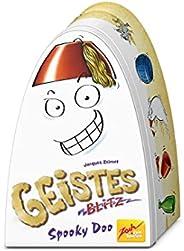 Zoch 601105085 Geistesblitz Spooky Doo,金属罐中的有趣的反应游戏,谁能快速抓住正确人物,赢得好机会,适合 8 岁以上儿童
