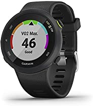 Garmin 佳明 Forerunner 45s 39 毫米 易于使用 GPS 跑步手表,Garmin Coach 免费训练计划支持010-02156-02 39mm 黑色
