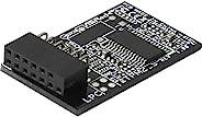 AsRock 机架配件 TPM 2.0 模块 TPM 模块 Infineon SLB9665 13 针型号 TPM2-SLI