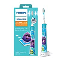 Philips 飛利浦 Sonicare HX6321 / 02 Sonicare 兒童充電式電動牙刷,藍色