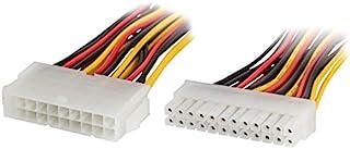 lanberg AD-0021-W ATX (20 极)插座到 BTX (24 极)插头适配器,带电线,15 厘米,多色