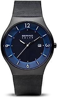 BERING 男式石英模拟手表