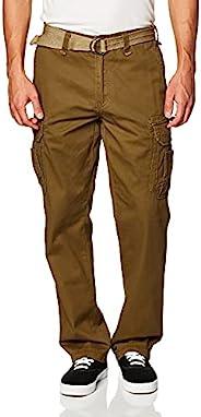 Unionbay Men's Survivor Iv Relaxed Fit Cargo Pant Golden Brown 3
