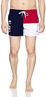 Champion LIFE 男式欧洲系列抽绳游泳短裤(限量版)