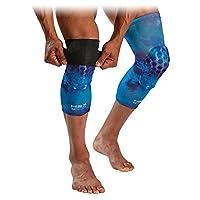 McDavid 迈克达威 篮球双面用膝盖袖,带六角扳手。 带衬垫的腿部压缩套(1 双装)