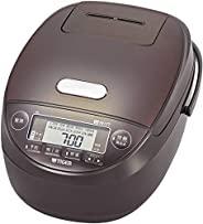 TIGER 虎牌 电饭煲 5.5合(约1L) 压力IH 土锅涂层 新鲜烹煮 棕色 JPK-B100T 需配变压器