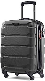 Samsonite 新秀丽 Omni Pc Hardside 可扩展行李箱,带万向轮,黑色,Carry-On 20-Inch