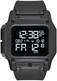 nixon 男式 regulus 手表46mm 黑色均码