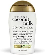 OGX 试用版滋养椰子奶护发素,3 盎司