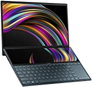ASUS 华硕 ZenBook Duo UX481 14英寸FHD NanoEdge边框触摸显示屏,英特尔酷睿i7-10510U处理器,8GB RAM,512GB PCIe SSD,创新屏幕平板Plus,Windows