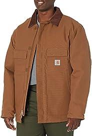 Carhartt 男士高大北极里衬鸭绒传统大衣,C003