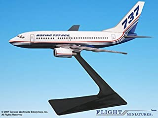 Boeing Demo (81-04) 737-600 Airplane Miniature Model Plastic Snap Fit 1:200 Part# ABO-73760H-001