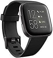 Fitbit Versa 2 健康健身智能手表,带语音控制,入睡得分和音乐