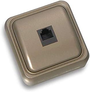 BF bf-18 – 插座电话 18 4/6 通过表面青铜口袋
