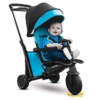 "smarTrike 革命性的六合一折叠三轮车 ""500"", 蓝色"