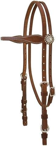 Weaver Leather Stacy Westfall ProTack 油棕色头垫