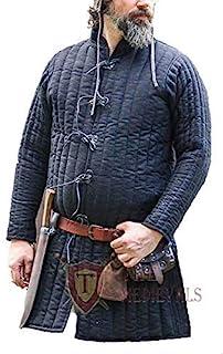 The Medievals 加厚加厚全长 Gambeson 外套 Aketon 夹克 盔甲服装 连衣裙 SCA